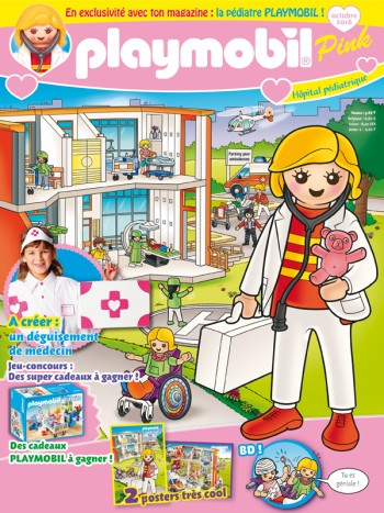 PLAYMOBIL® Pink - Octobre 2016